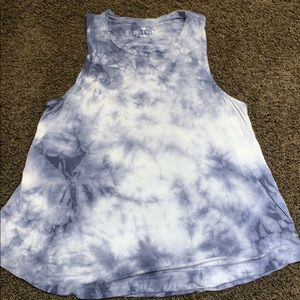 American Eagle Tie Dye Soft and Sexy Tank Top